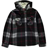 Boys Branded Lee Cooper Casual Check Print Pockets Top Flannel Shirt 7-13 Yrs