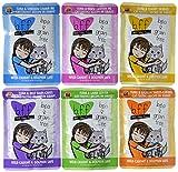 Cedar Crate Market Best Feline Friend (BFF) Grain Free Cat Food Variety Pack - 3 Oz. Pouches - Tuna & Salmon, Tuna & Lamb, Tuna & Turkey, Tuna & Duck, Tuna & Chicken, and Tuna & Beef (12 Pack Bundle)