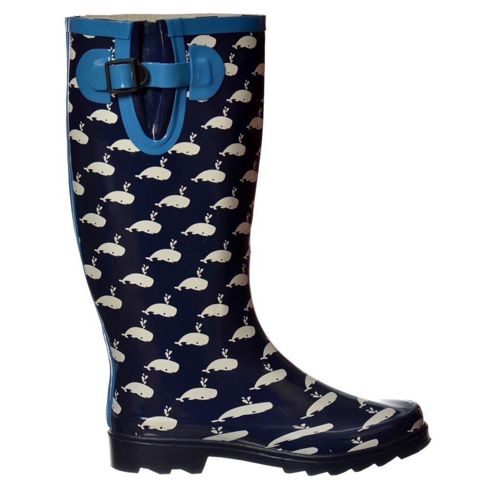 a825172968e Onlineshoe FBA - Funky Flat Wellie Wellington Festival Rain Boots -  Assorted Colours  Amazon.co.uk  Shoes   Bags