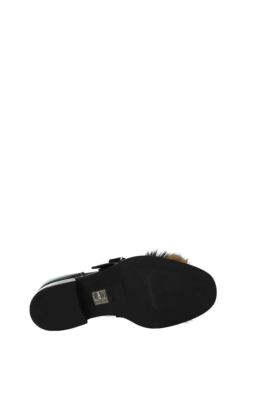 Mocasines Prada Mujer - Piel (1D879HVERDENERO) 38 EU: Amazon.es: Zapatos y complementos
