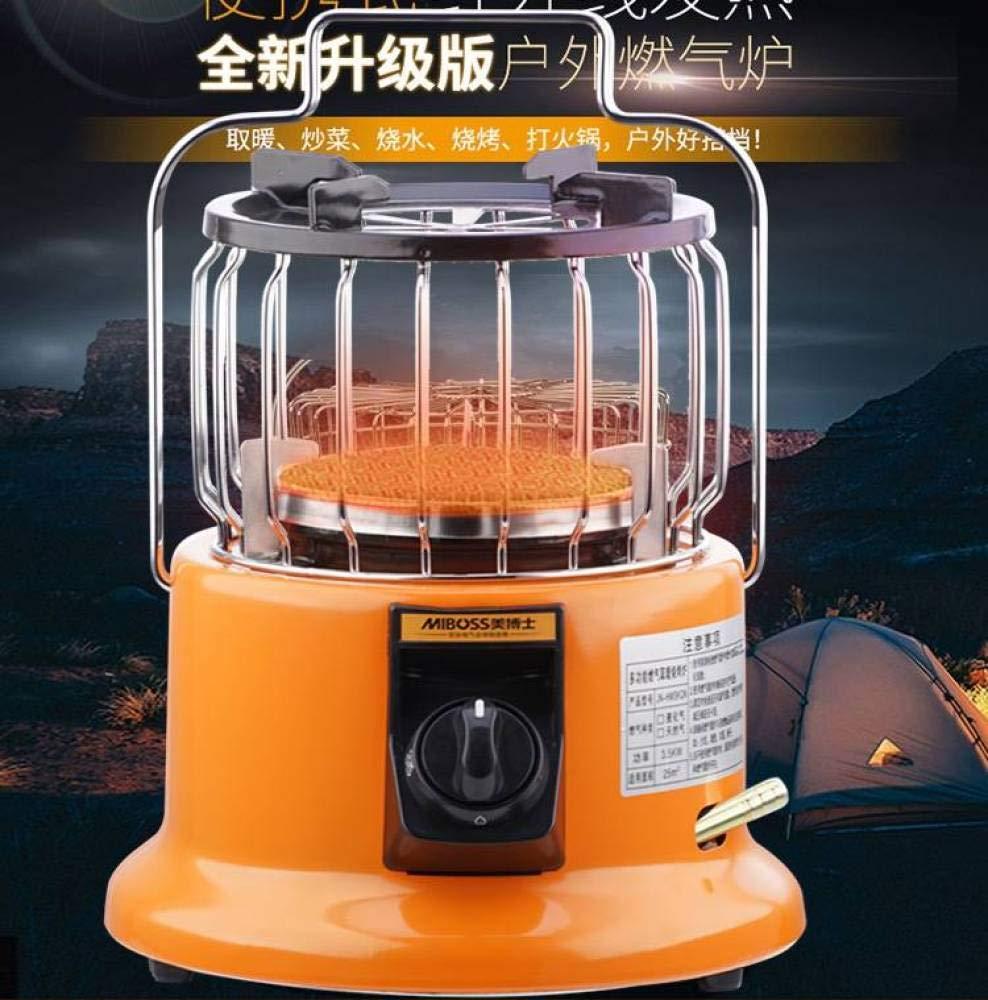 Little Sun Calentador de Gas Multifunción, Hogar, Estufa de Calefacción Al Aire Libre, Gas Licuado Tianyuan Infrarrojo Lejano, Calor, Ahorro de Energía, ...