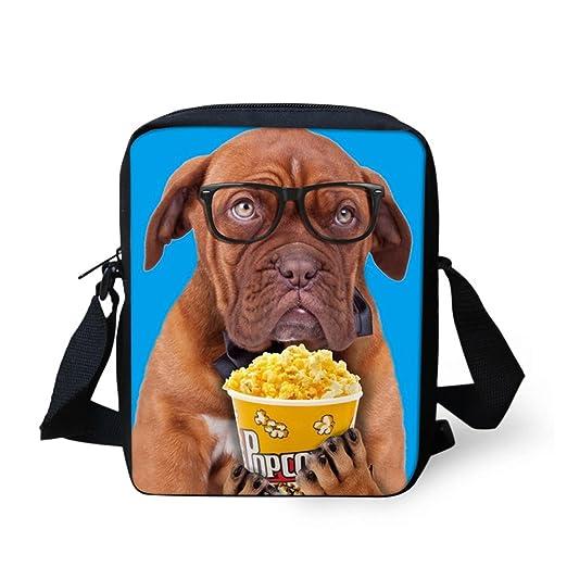 47e17bb2e538 FOR U DESIGNS Stylish Dog Print Unique Mini Shoulder Bag for Children