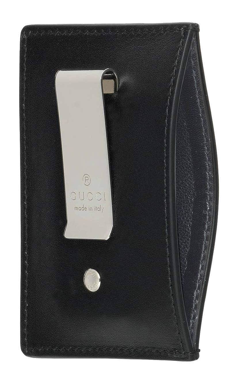 Gucci - Cartera para hombre de piel Hombre Negro Negro (Talla única: Amazon.es: Ropa y accesorios