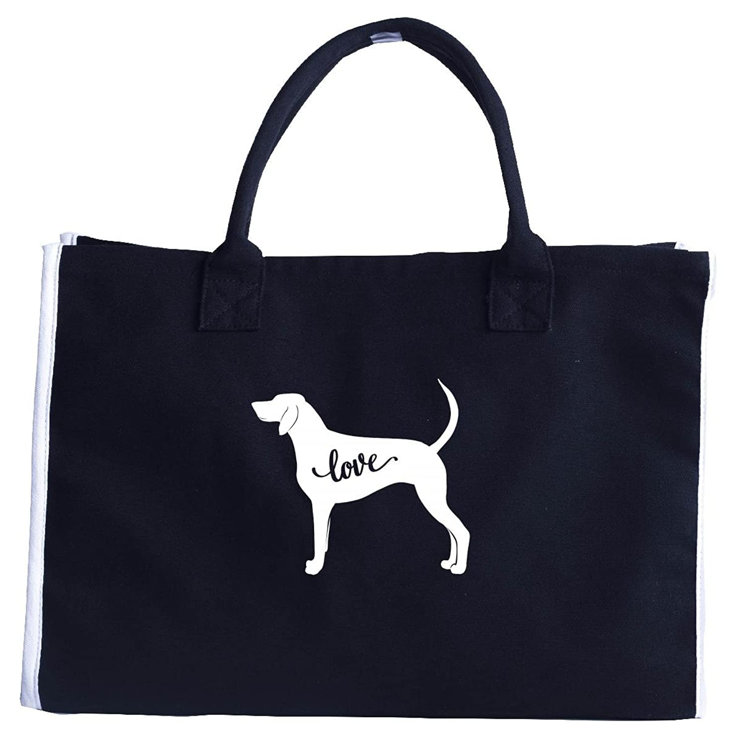 Love Redbone Coonhound. Funny Gift For Pet Lovers - Fashion Tote Bag