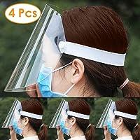 4 piezas Máscara protectora, antiniebla, gafas antifuma, reutilizables