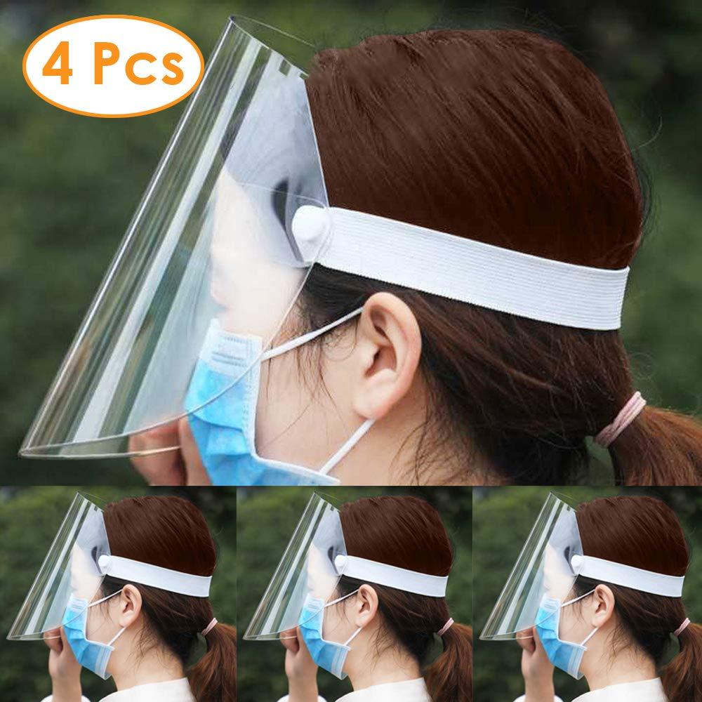 4 piezas Máscara protectora, antiniebla, gafas antifuma, reutilizables, unisex, los niños también pueden usar