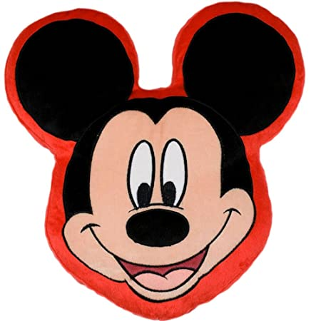 Mickey Mouse Head Shape Cushion