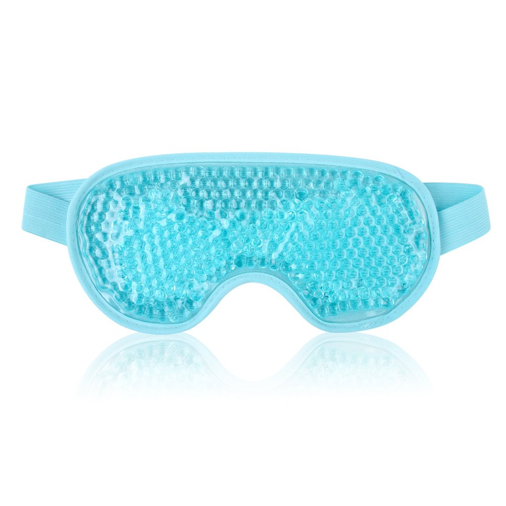 Amazon.com : Reusable Eye Mask with Gel Beads for Hot Cold