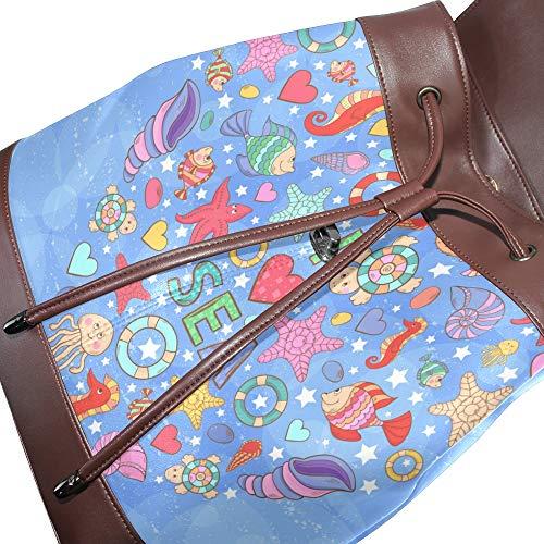 Au Pour Main Taille DragonswordlinsuSac Unique Porté À Dos Multicolore Femme jL4SRqc35A