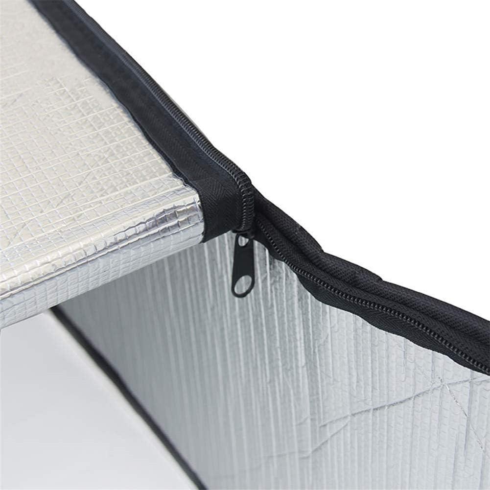 iShin/é Couverture descalier de Grenier 138 x64x28cmkit Isolant de Porte de Papier daluminium /à Double Face disolation descalier de Grenier,Preuve feu tr/ès /épais Grenier Stairway Insulator