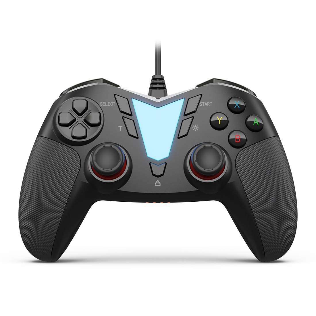 Black PS3 - Android IFYOO ONE Pro Wired USB Gaming Gamepad Joystick Compatible with Computer//Laptop Windows 10//8//7//XP PC Steam Game Controller Phone//Tablet//TV//Box