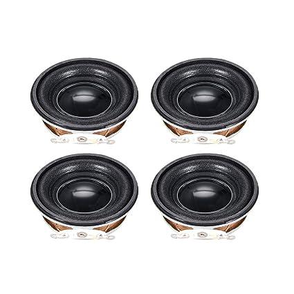 Amazon.com: uxcell 3W 4 Ohm Speaker 40mm Round Shape Loudspeaker for