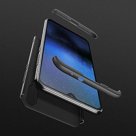 Aceniy Funda Xiaomi Mi A3/Mi CC9e, Carcasa Móvil de Protección de 360° 3 en 1 Desmontable con HD Protector de Pantalla Carcasa Caso Case Cover para ...