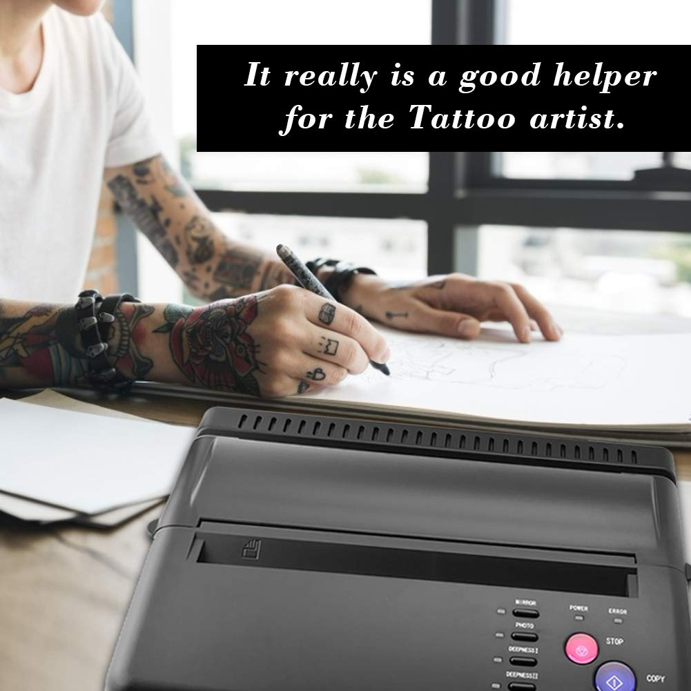 Amazon.com: Tattoo Transfer Stencil Machine, Thermal Copier ...