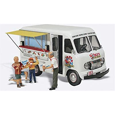 Woodland Scenics Ike's Ice Cream Truck N Scale WOOAS5338: Toys & Games