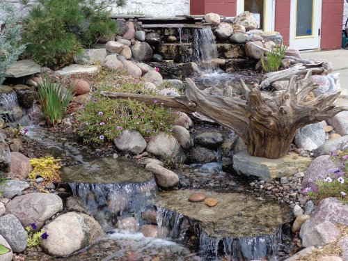EasyPro JAF5E Eco-Series Just-A-Falls Kit System, 18-Inch Waterfall Spillway (7-Foot Stream)