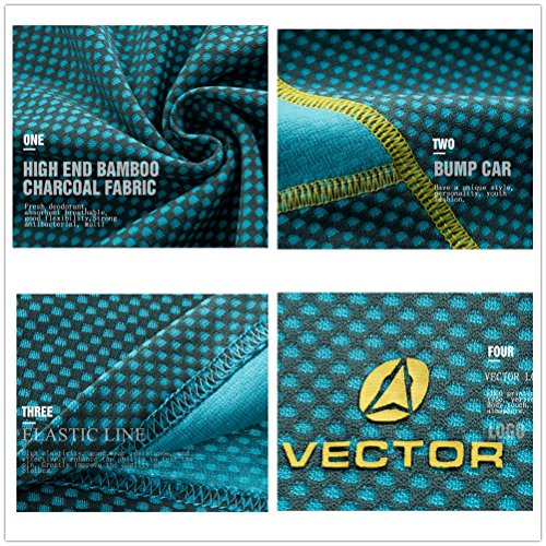 VECTOR - Camisa deportiva - Manga corta - para mujer Azul