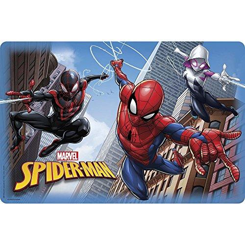 Zak Designs Marvel Comics Kid's Placemat Set of 1 Spider-Man & Spider-Gwen