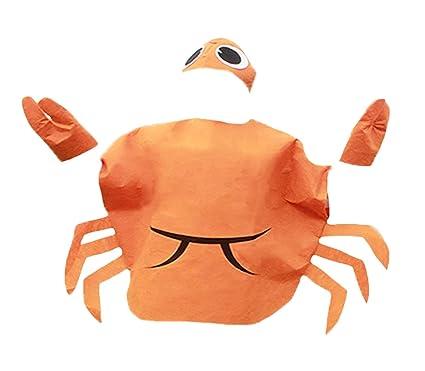 Crabe Orange Animal Ensemble de costume Parti Porter Enfants Unisexe 3 + -  orange - Taille Unique  Amazon.es  Ropa y accesorios c694d021292