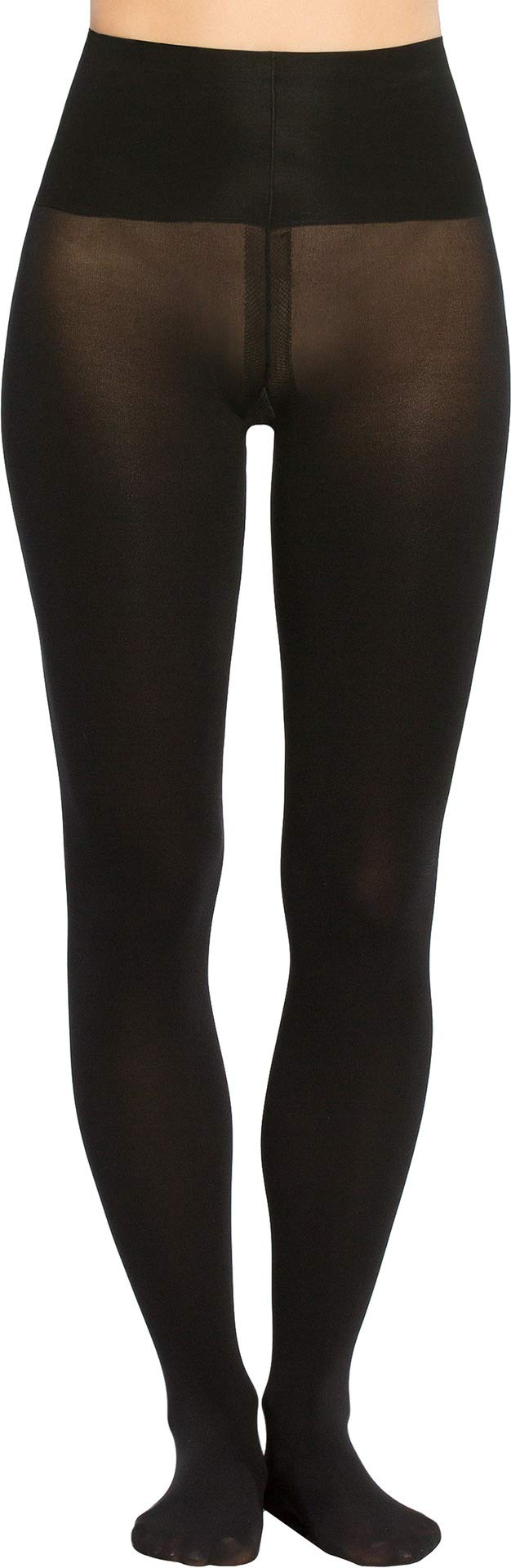 Spanx Women's Tummy Shaping Tights Very Black E by SPANX