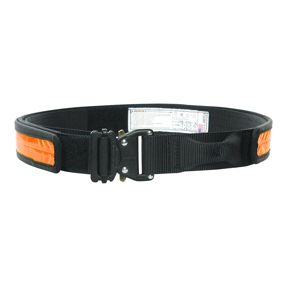 """Fusion Tactical Military Police High Visibility Reflektierende Gürtel Typ A Neon Orange X-Large 43-48""""  1.75 Weit"""