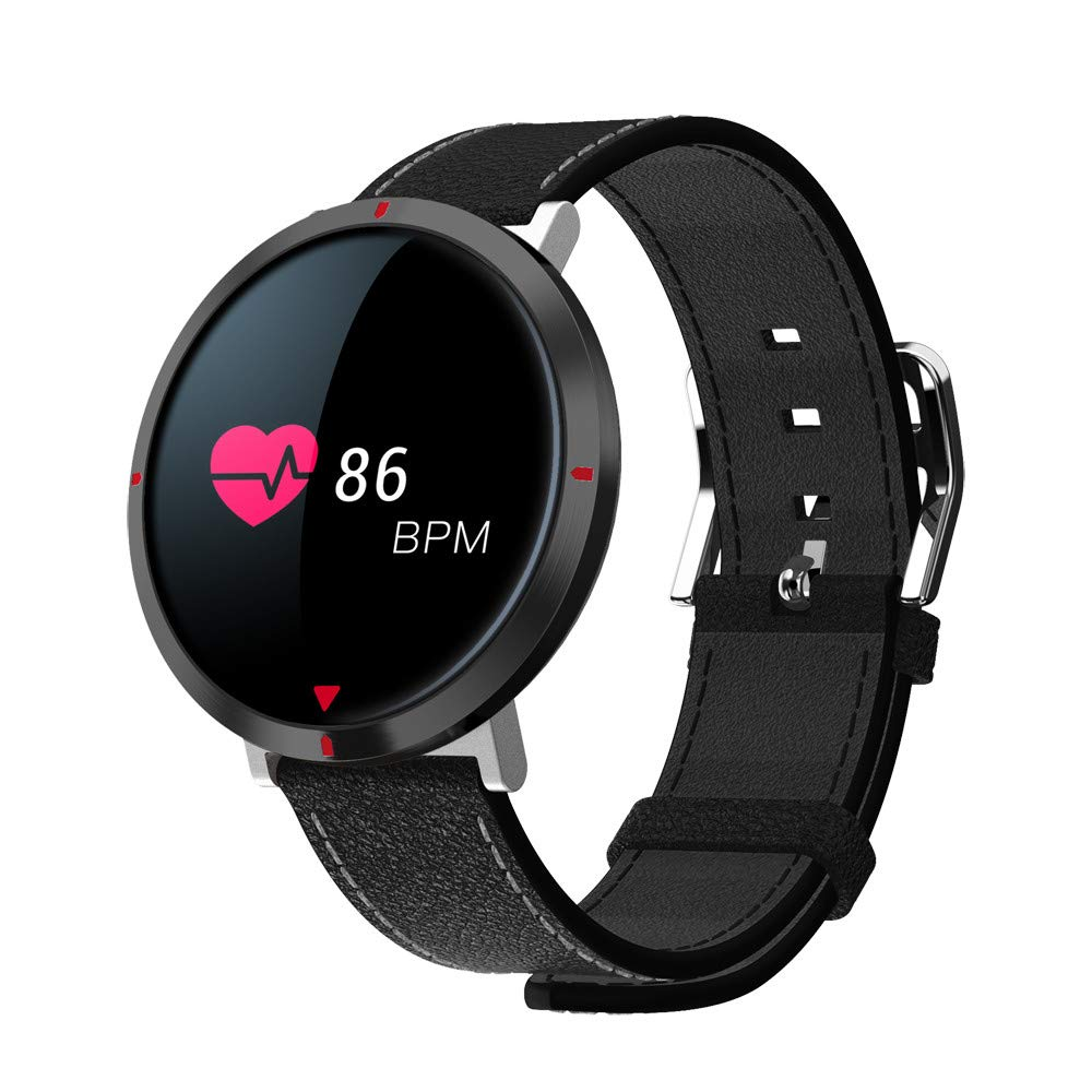 Amazon.com: Star_wuvi S2 Heart Rate Smart Watch Heart Rate ...