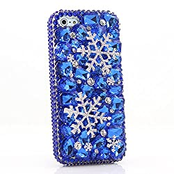 Genuine Crystals Protective iPhone 8+/7+ Case Cover