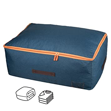 Grandes bolsas de almacenamiento de ropa Qozary, 105 l ...