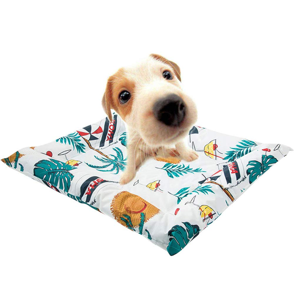 Large Cooling Dog Mat,Durable Pet Cool Mat Non-Toxic Gel Self Cooling Pad for Dogs and Cats in Hot Summer,L
