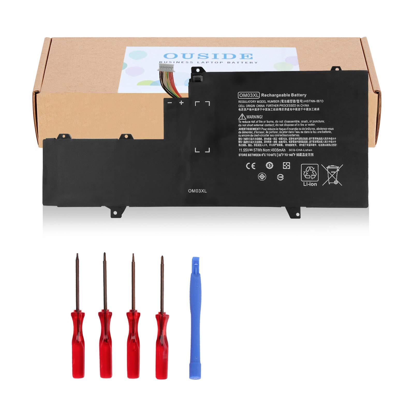 Bateria OM03XL para HP EliteBook X360 1030 G2 Series HSTNN-I