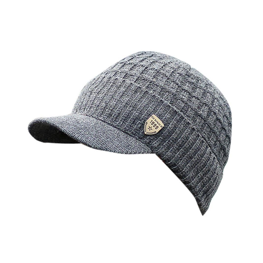 Saisiyiky gorros de lana hombre invierno sombreros hombre invierno ...