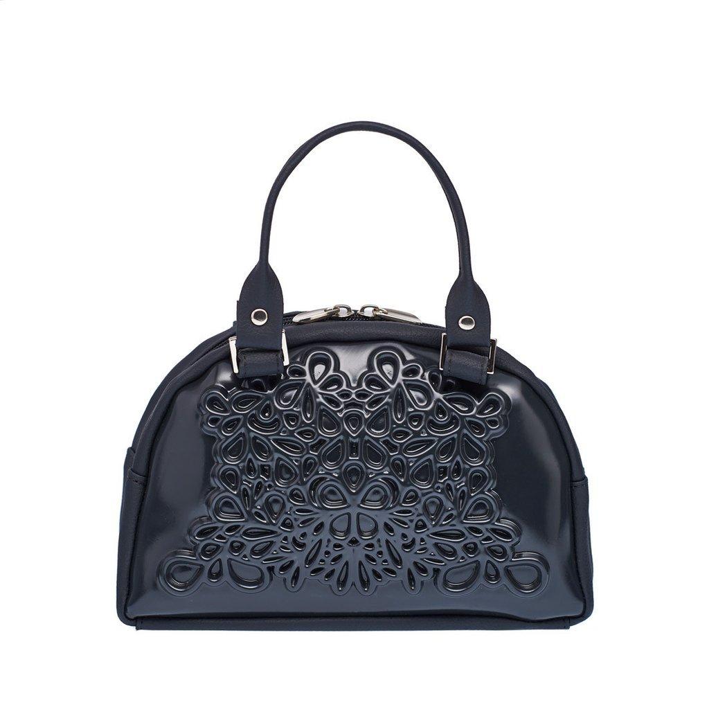 783019c92d51 Amazon.com  MeDusa Vegan Leather Handmade Lily Crossbody Bag (Black Black)   Shoes