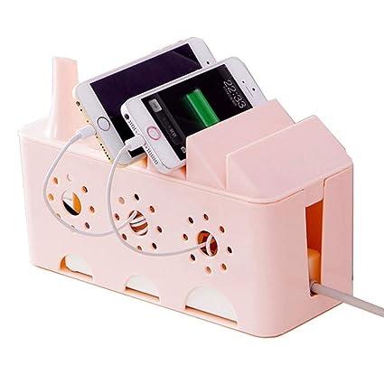 Ndier - Caja organizadora de Cables para Escritorio, Mesa de ...