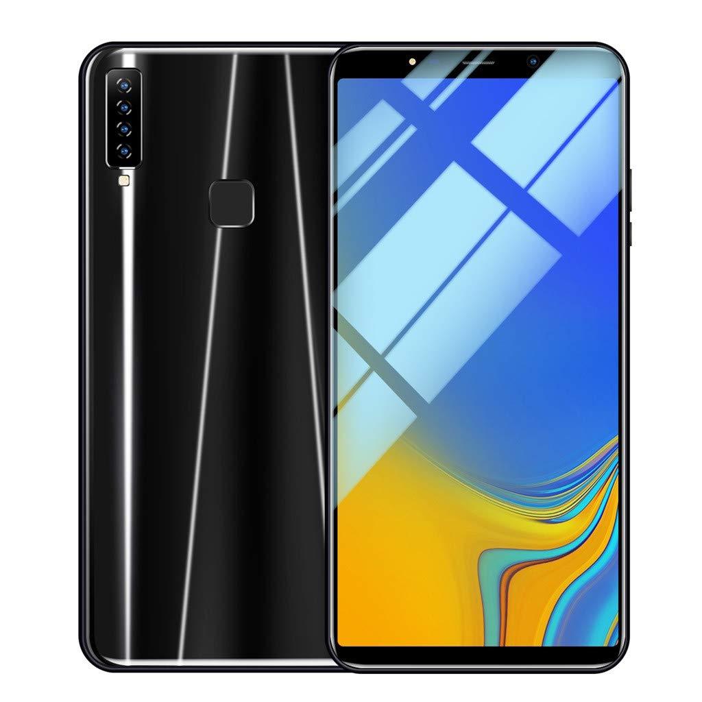 Matoen A9 Four Camera Smartphone Eight Cores 6.1 inch Dual HD Camera Smartphone Android16GB Dual SIM Mobile Phone (Black) by Matoen (Image #1)