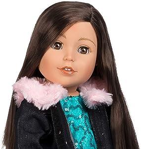 Adora Amazing Girls 18-inch Doll, ''Emma Sparkles'' (Amazon Exclusive)