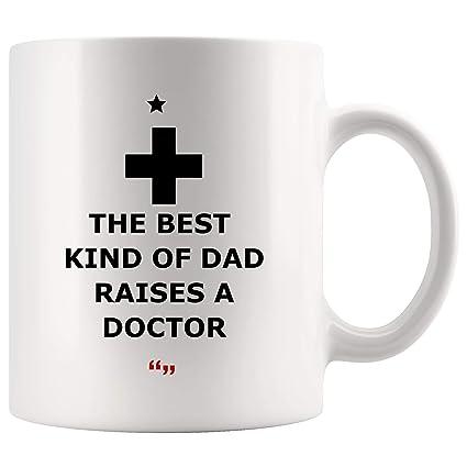 Amazon Com Best Kind Dad Raises Doctor Father Mug Coffee