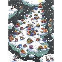 Calendrier de l'Avent: Noël de Plume au pôle Nord