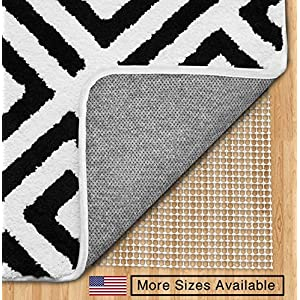 The Original GORILLA GRIP Area Rug Pad, Made In USA, Available in Many Sizes, For Hard Floors (2' x 10')
