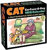 Cat Cartoon-A-Day 2018 Calendar