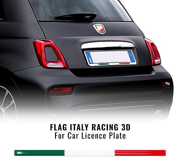 Stripe 3d Klebestreifen Tricolore Italien Für Nummernschildhalter Auto