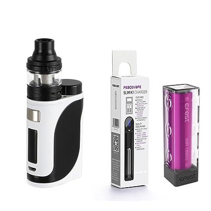 Auténtico Eleaf Istick Pico 25 Cigarrillo electrónico 85W Kit de inicio (Blanco / Negro)