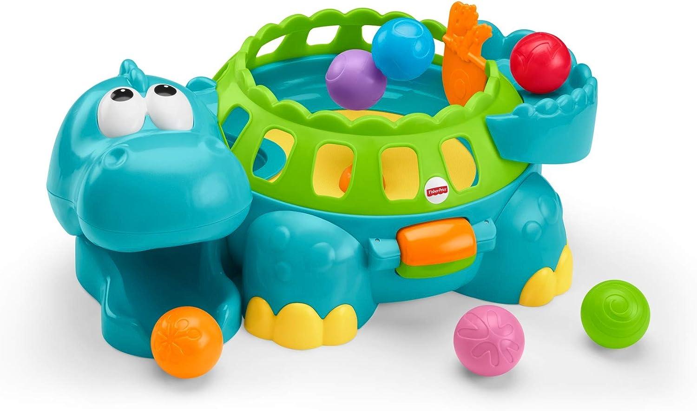 Juguete de bolas musical con forma de dinosaurio de Fisher-Price ...