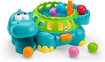 Juguete de bolas musical con forma de dinosaurio de Fisher-Price: Amazon.es: Juguetes y juegos