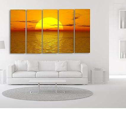 Casper Me Multiple Frames Printed Beautiful Sunrise View Digital ...