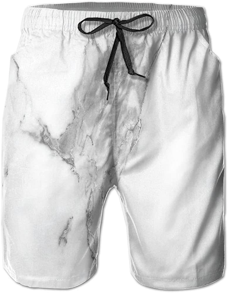 ACFUNEJRQ Mens Abstract Stained Hazy Pattern Natural Textured Cool Beach Pants Pocket Drawstring Beach Shorts