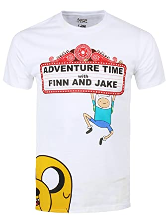 5ebb20e04ab ADVENTURE TIME WITH FINN AND JAKE T-Shirt  Amazon.co.uk  Clothing