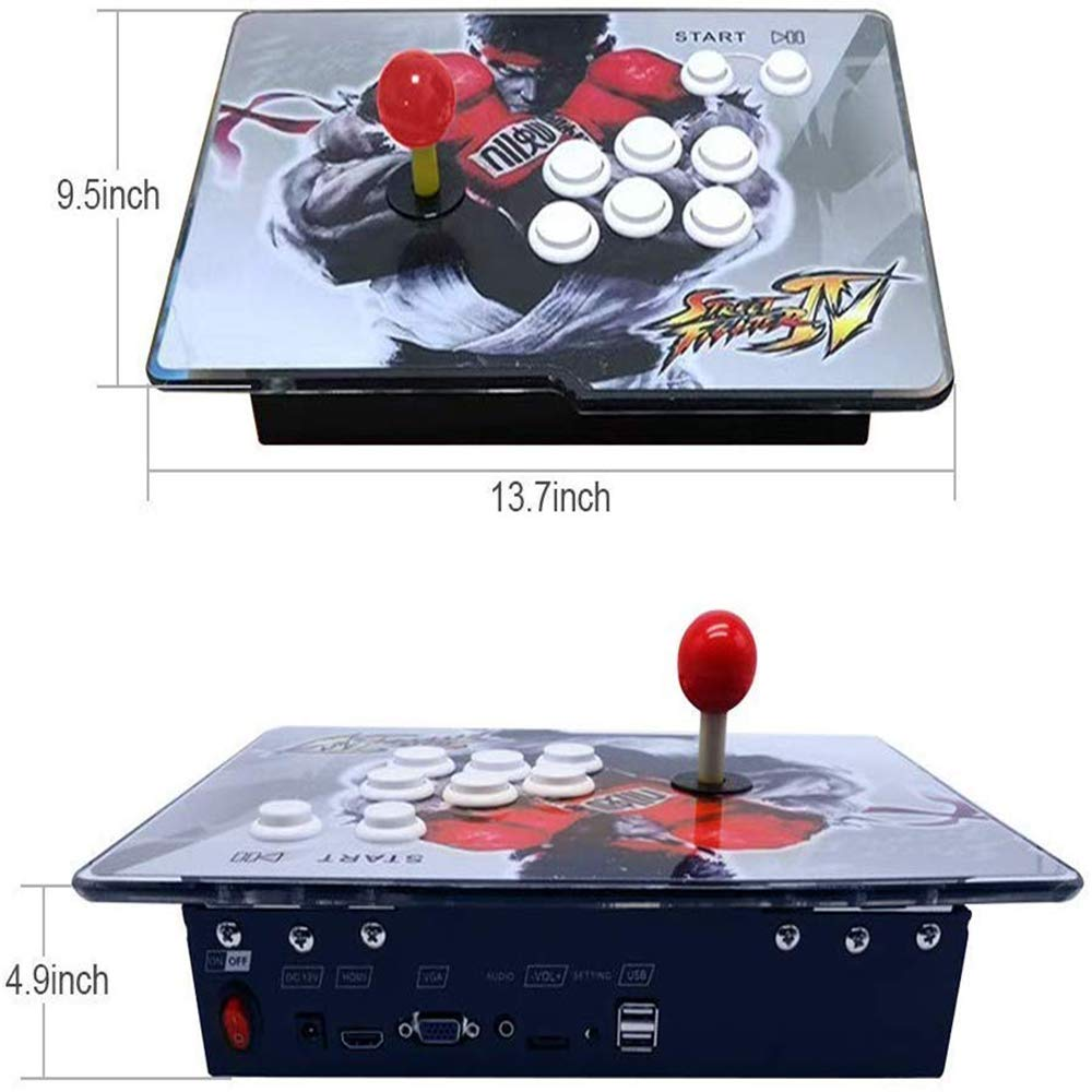 PinPle Arcade Game Console 1080P 3D & 2D Games 2350 2 in 1 Pandora's Box 3D 2 Players Arcade Machine with Arcade Joystick Support Expand Games for PC / Laptop / TV / PS4 (KOF) by PinPle (Image #2)