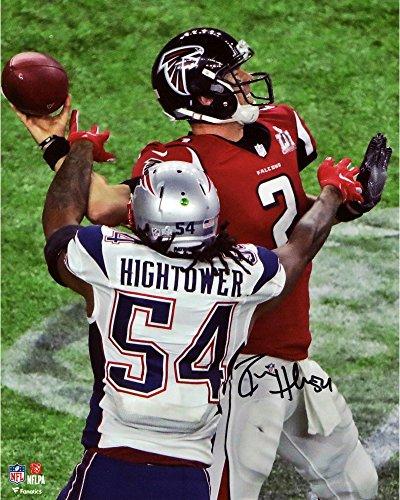 Donta Hightower New England Patriots Autographed 8  X 10  Super Bowl Li Champions Action Photograph   Fanatics Authentic Certified