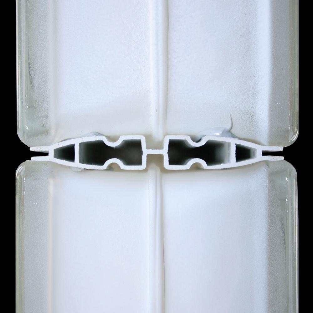 QUICK-FIX Verlegesystem f/ür 24 Glassteine im Format 24x24x8 cm