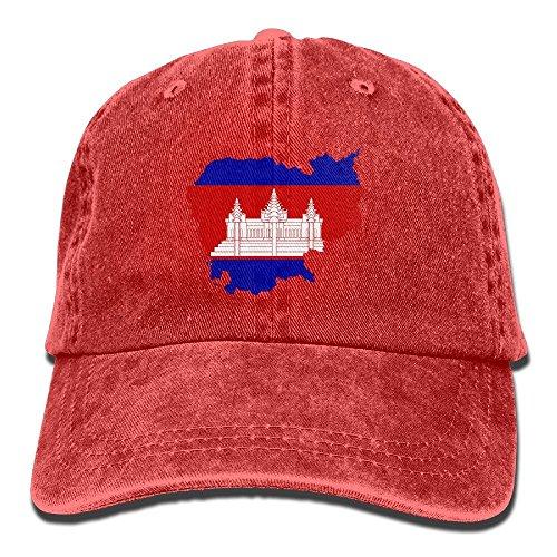 Rosso Gorra de Hombre Ygsxcc Taille Rojo para béisbol Unique YHdq4